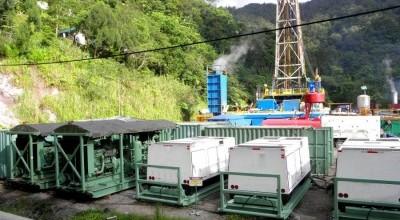 Geotermal-drilling
