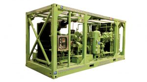 Offshore-booster-compressor