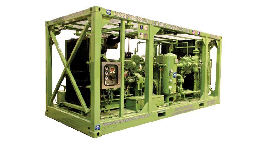 Offshore-booster-compressor
